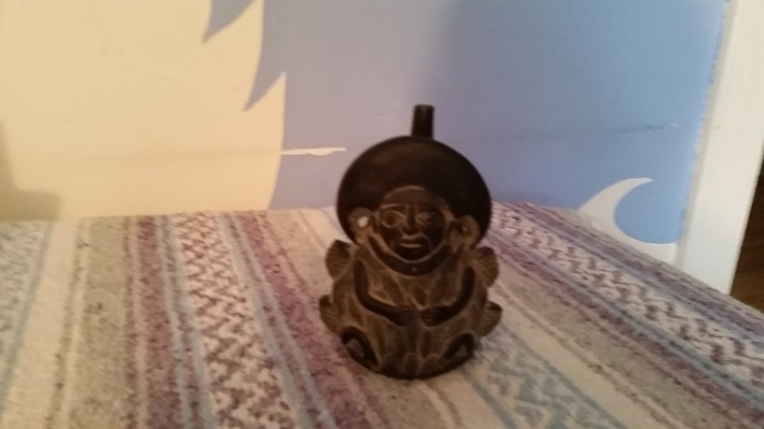 Replica of a Peruvian Whistling Vessel in my collection
