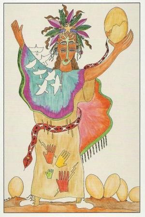 aboringinal goddess