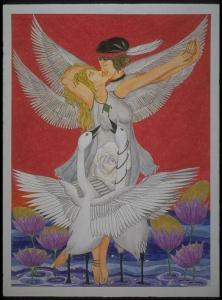 Watercolor painting by Katelyn Mariah BFA